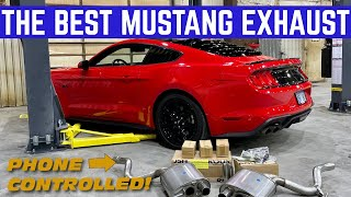 INSTALLING A $3,000 BLUETOOTH EXHAUST On Byte My Bits 2020 Mustang GT
