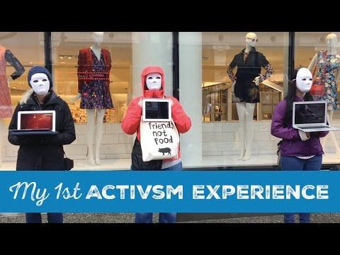 Earthlings Experience Vancouver  |  Activism Noob