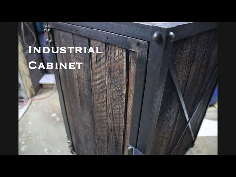 Industrial Cabinet DiY