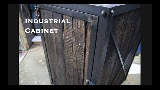 Industrial Cabinet DiY