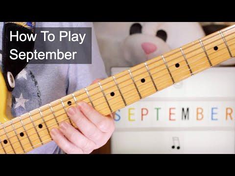 'September' Earth Wind & Fire Guitar Lesson