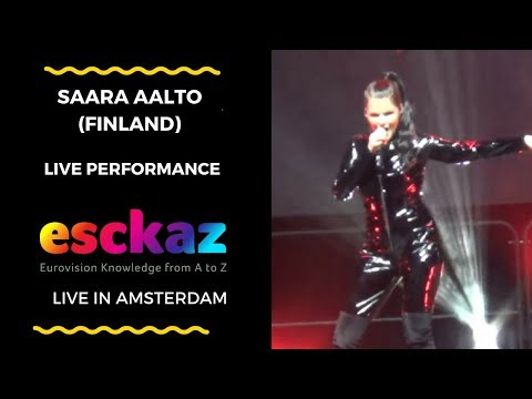 ESCKAZ in Amsterdam: Saara Aalto (Finland) - Monsters