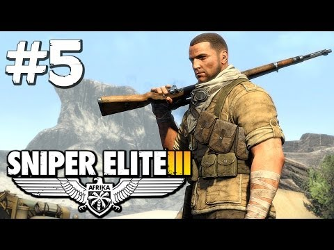 Sniper Elite 3 - Hellfire Pass - Part 5 (PS4 Gameplay)