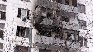 Взрыв в жилом доме в Москве