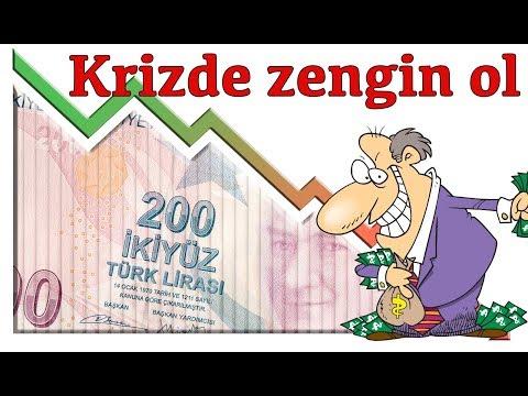Uzmanlardan Ekonomik Kriz Sırasında Zengin Olmak