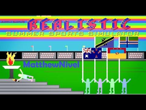 Realistic Summer Sports Simulator ♦ Симулятор Летних Олимпийских Игр