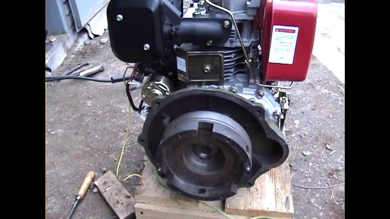 Мінітрактор Т-012 заміна двигуна. Перехідна плита. Монтаж. Частина 4.