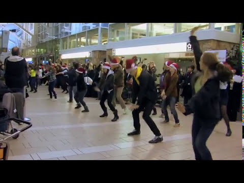 Video Production Vancouver BC - Air Canada Flash Mob