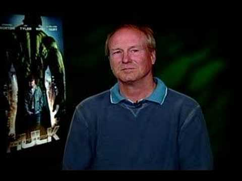 William Hurt interview for The Incredible Hulk