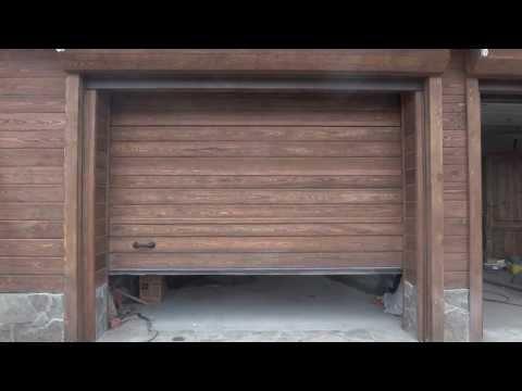 видео: секционные ворота