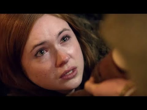 Amy Falls Into The Earth | The Hungry Earth | Doctor Who