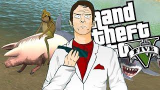 LA RANA Y EL PUERCO!! - GRAND THEFT RANA!! - The Amazing Frog