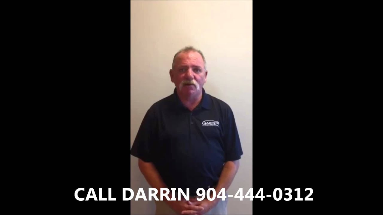 Meet darrin touchton from garber automall green cove springs fl jacksonville fl