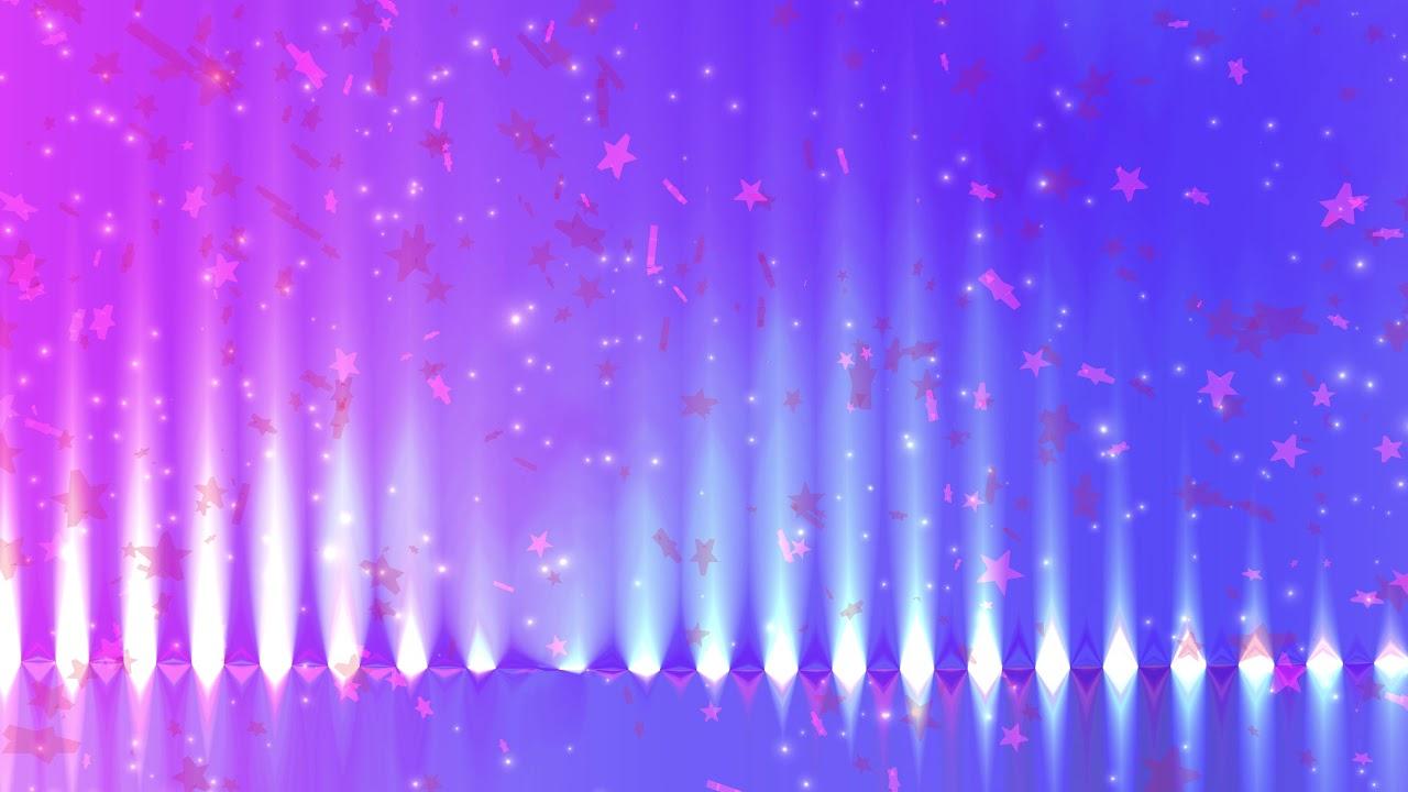 4k relaxing pink stars
