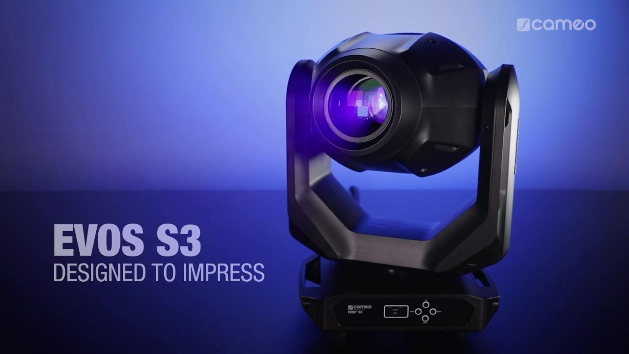 Cameo EVOS® S3   Spot Moving Heads   Cameo