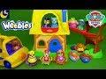 Paw Patrol Weebles Toys Nursery Rhymes Goldilocks and the 3 Bears School Bus Episode Video for Kids