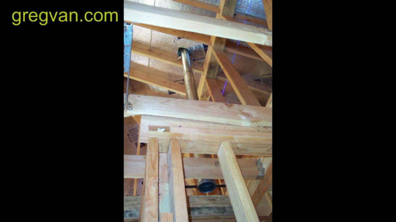 Attic Water Heater Vent Installation Advice Home