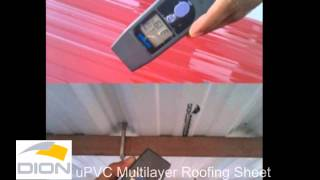 HEAT INSULATION UPVC MULTILAYER ROOFING SHEET