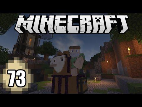 Minecraft Survival Indonesia - Kesatria Llama dari Woodland! (73)