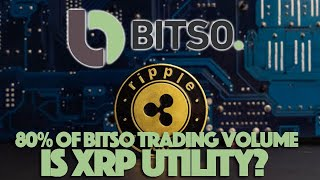 Ripple XRP: Is 80% Of Bitso's Trading Volume Based On XRP Utility Now?