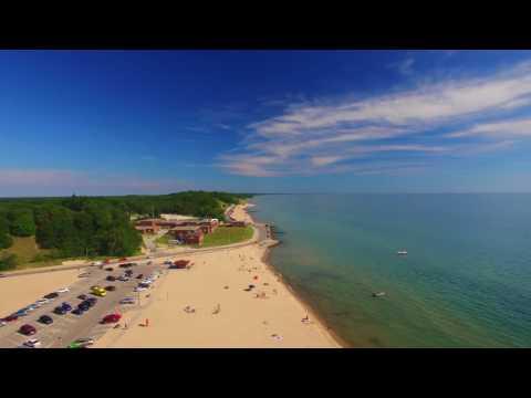 Muskegon, MI -- Pere Marquette Beach