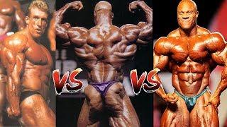 Masters of the Mandatories - Dorian Yates vs Ronnie Coleman vs Phil Heath