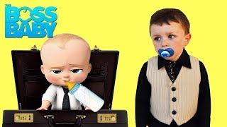 DREAMWORKS The Boss Baby Magic Bottle gets STOLEN video parody Hilarious Kids Entertainment Video