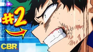 The Strongest My Hero Academia Characters Ranked From Worst To Best (Class 1-A)