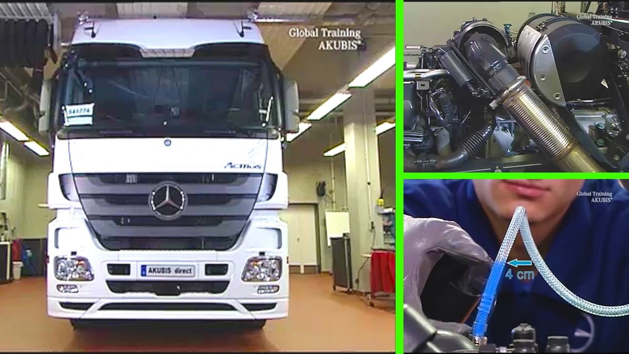 mercedes benz actros dosiereinheit in verbindung mit. Black Bedroom Furniture Sets. Home Design Ideas