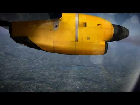 Manchester (MAN) to Guernsey (GCI) in an ATR42-500