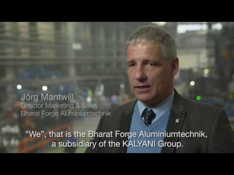 Fully automated forging line with ABB robots at Bharat Forge