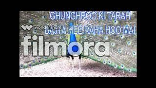 Ghunghroo ki tarah karaoke with lyrics