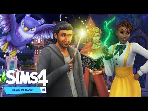 MAGIC IS COMING!!! | The Sims 4 Realm of Magic Game Pack Trailer Reaction | PC |
