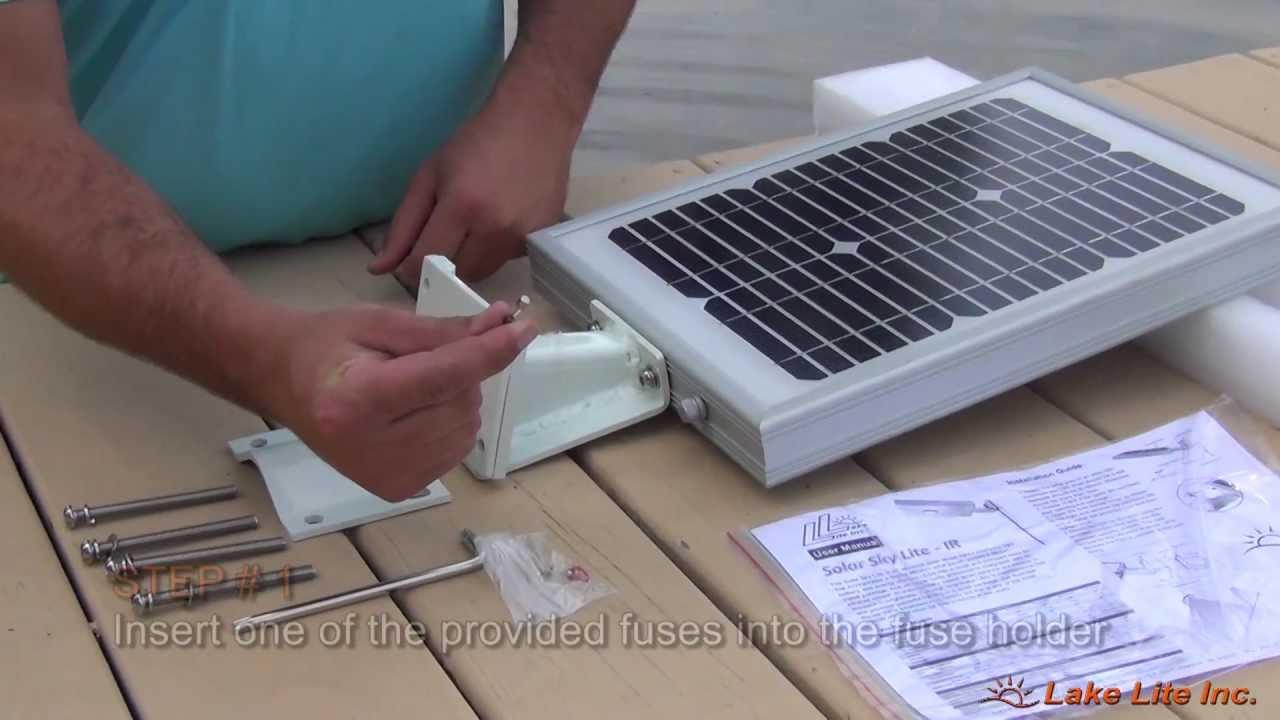 Solar Sky Light Installation Video