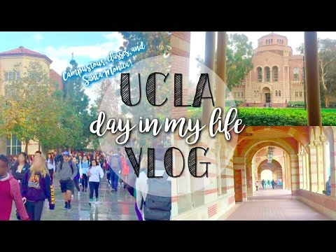 Day In My Life at UCLA! ♡ Campus Tour, Classes, ICE & Santa Monica Pier 💙🐻💛
