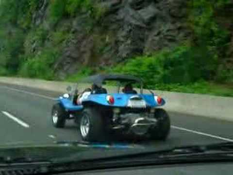 Vw Dune Buggy >> VW Dune Buggy Manx Sombrero Top (at speed) - YouTube