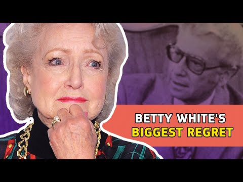 The Truth About Betty White's Biggest Regret  ⭐OSSA