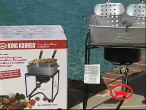 Fish Frying - The King Kooker Way