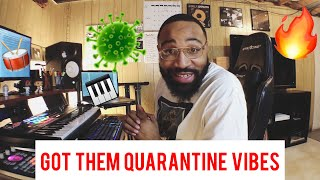 I got them quarantine vibes (making a boom bap hip hop beat)