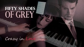 Скачать 50 Shades Of Grey Crazy In Love Piano Cover Sheet Music Partituras