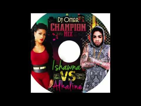 Alkaline vs Ishawna DJ OMAR mix