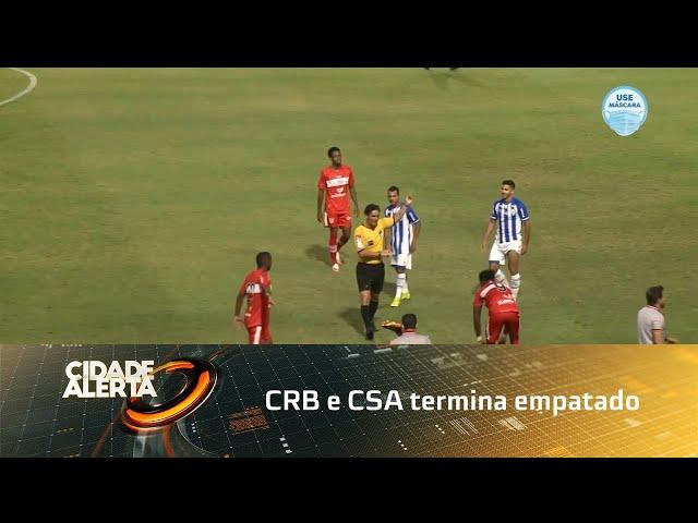 Futebol: CRB e CSA termina empatado