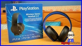 Official Sony PlayStation Gold 7.1 Wireless Headset (PS4) | Unboxing, Set-Up & Review | MyKeyReviews