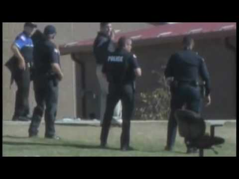 footage of the scene of the Ft. Hood shooting.