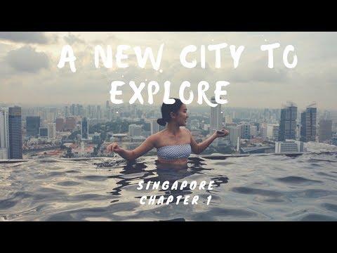 THE LION CITY 🇸🇬  | SINGAPORE | VLOG 1
