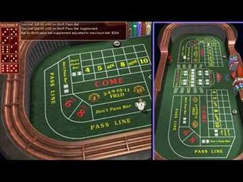 Craps betting strategy field