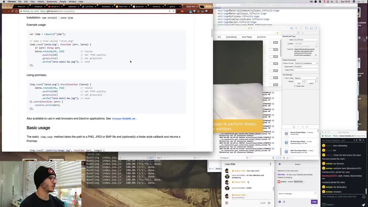 Livecoding #37- Building a real life color picker - A geek with a hat