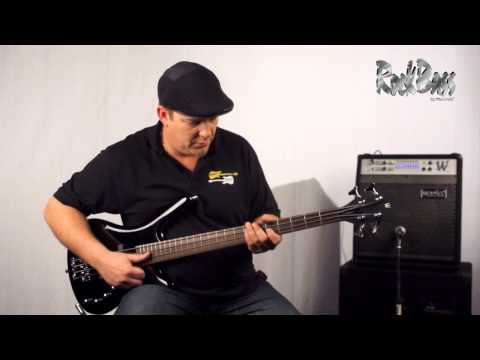 The RockBass Corvette Basic Medium Scale - with Andy Irvine