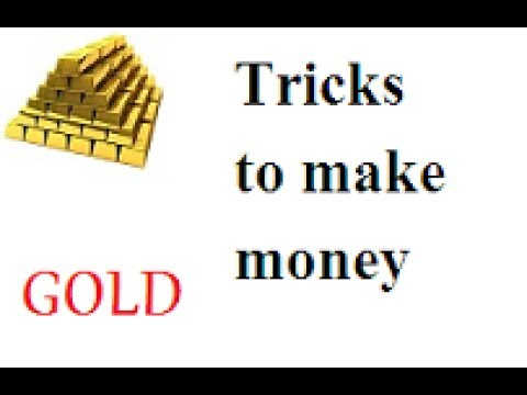 How to make money through online with gold,online trading
