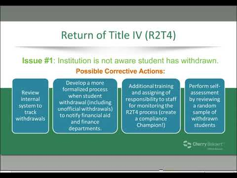 Education Webinar: Common Errors in Student Financial Aid